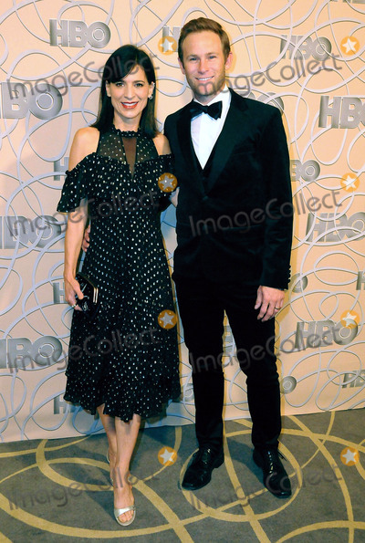 Aaron Fox Photo - BEVERLY HILLS CA - JANUARY 8 (L-R) Actress Perrey Reeves and Aaron Fox attend HBOs official golden globes awards after party at Circa 55 restaurant at the Beverly Hilton Hotel on January 8 2017 in Beverly Hills California  (Photo by Barry KingImageCollectcom)