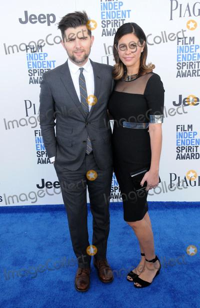 Adam Scott Photo - SANTA MONICA CA - FEBRUARY 25 (L-R) Actor Adam Scott and wife Naomi Scott attend 2017 Film Independent Spirit Awards on February 25 2017 in Santa Monica California  (Photo by Barry KingImageCollectcom)