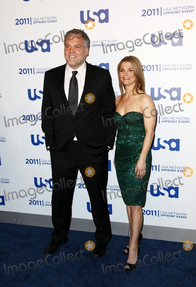 Kathryn Erbe Photo - NEW YORK - MAY 2  Vincent DOnofrio  Kathryn Erbe attend the USA Network Upfront Event on May 2 2011 at Lincoln Center in New York City  (Photo by StarMediaImageCollectcom)