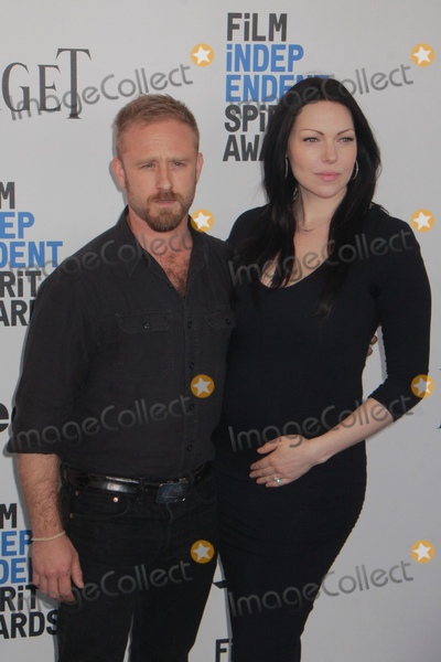 Laura Prepon Photo - Ben Foster Laura Prepon 2252017 2017 Film Independent Spirit Awards held at the Santa Monica Pier in Santa Monica CA Photo by Julian Blythe  HollywoodNewsWireco