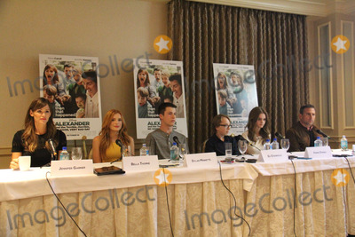 Bella Thorne Photo - Jennifer Garner Bella Thorne Dylan Minnette Ed Oxenbould Kerris Dorsey Steve Carell 09272014 Press Conference of Alexander and the Terrible Horrible No Good Very Bad Day held at the Four Seasons Los Angeles at Beverly Hills in Los Angeles CA Photo by Izumi Hasegawa  HollywoodNewsWirenet