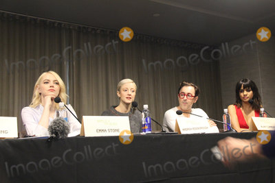 Alan Cumming Photo - Emma Stone Andrea Riseborough Alan Cumming Natalie Morales 09172017 Battle of the Sexes Press Conference held at W Los Angeles - West Beverly Hills Los Angeles CA  Photo by Izumi Hasegawa  HollywoodNewsWireco