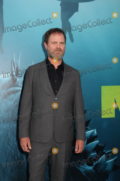 Rainn Wilson Photo - Rainn Wilson 08062018 The US Premiere of The MEG held at the TCL Chinese Theater in Los Angeles CA Photo by Izumi Hasegawa  HollywoodNewsWireco