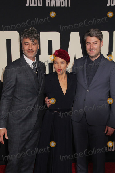 Chelsea Winstanley Photo - Chelsea Winstanley Taika Waititi Carthew Neal 10152019 The Los Angeles Premiere of Jojo Rabbit held at the Hollywood American Legion Post 43 in Los Angeles CA Photo by Izumi Hasegawa  HollywoodNewsWireco