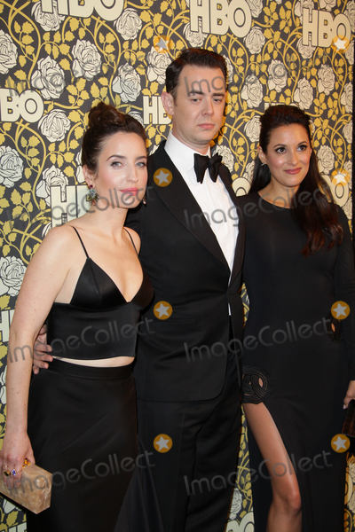 Angelique  Cabral Photo - Zoe Lister-Jones Colin Hanks Angelique Cabral 01102016 The 73rd Annual Golden Globe Awards HBO After Party held at the Circa 55 Restaurant at The Beverly Hilton in Beverly Hills CA Photo by Izumi Hasegawa  HollywoodNewsWireco