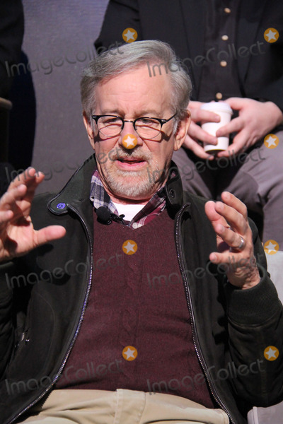 Steven Spielberg Photo - Steven Spielberg 03152018 Ready Player One Press Junket held at the Goya Studios in Los Angeles CA Photo by Izumi Hasegawa  HollywoodNewsWireco