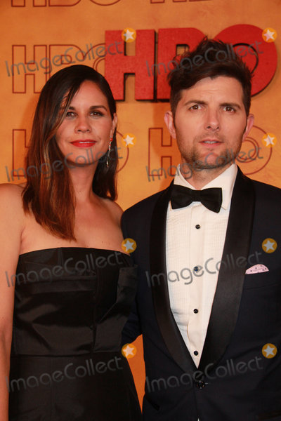 Adam Scott Photo - Naomi Scott Adam Scott 09172017 The 69th Annual Primetime Emmy Awards HBO After Party held at the Pacific Design Center in West Hollywood CA Photo by Izumi Hasegawa  HollywoodNewsWireco