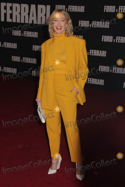The Specials Photo - Carrie Coon 11042019 The Special Screening of Ford v Ferrari held at TCL Chinese Theater in Los Angeles CA  Photo by Izumi Hasegawa  HollywoodNewsWireco