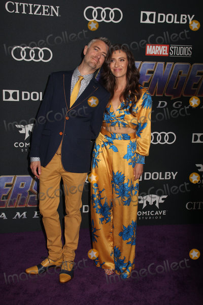 Natasha Halevi Photo - Sean Gunn Natasha Halevi  04222019 The world premiere of Marvel StudiosAvengers Endgame held at The Los Angeles Convention Center in Los Angeles CA Photo by Izumi Hasegawa  HollywoodNewsWireco