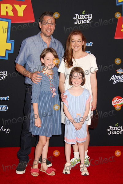 Alexis Denisof Photo - Alexis Denisof Alyson Hannigan 06112019 Toy Story 4 Premiere held at the El Capitan Theatre in Hollywood CA Photo by Kazuki Hirata  HollywoodNewsWireco