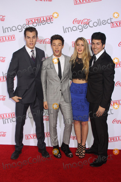 Alex Goyette Photo - Marcus Johns Cameron Dallas Lia Marie Johnson Alex Goyette 12102014 Los Angeles Premiere of AwesomenessTVfs Expelled held at  Westwood Village Theatre in Los Angele CA Photo by Mayuka Ishikawa  HollywoodNewsWirenet