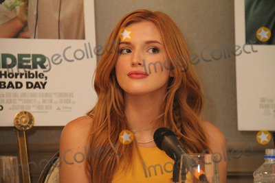 Bella Thorne Photo - Bella Thorne 09272014 Press Conference of Alexander and the Terrible Horrible No Good Very Bad Day held at the Four Seasons Los Angeles at Beverly Hills in Los Angeles CA Photo by Izumi Hasegawa  HollywoodNewsWirenet