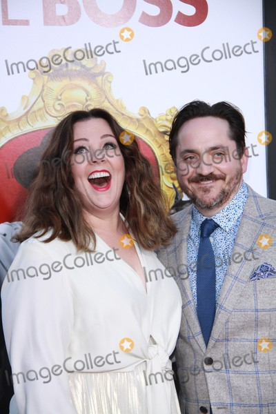 Ben Falcone Photo - Melissa McCarthy Ben Falcone 03282016 The World Premiere of gThe Bossh held at Regency Village Theatre in Los Angeles CA Photo by Izumi Hasegawa  HollywoodNewsWireco