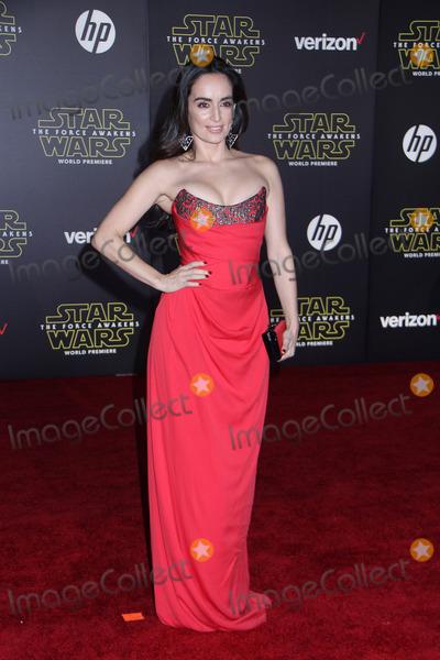 Ana De la reguera Photo - Ana de la Reguera 12142015 Star Wars The Force Awakens Premiere held at the Dolby Theatre in Hollywood CA Photo by Kazuki Hirata  HollywoodNewsWirenet