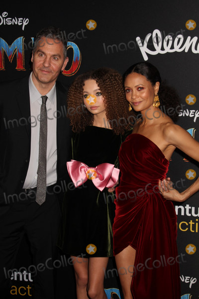 Nico Parker Photo - Ol Parker Nico Parker Thandie Newton 03112019 The World Premiere of Dumbo held at the El Capitan Theatre in Los Angeles CA Photo by Izumi Hasegawa  HollywoodNewsWireco