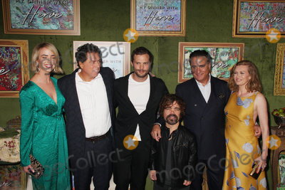 Andy Garcia Photo - Ashleigh Brewer Sacha Gervasi Jamie Dornan Peter Dinklage Andy Garcia Mireille Enos 10042018 The Los Angeles Premiere of My Dinner with Herve held at Paramount Studios in Los Angeles CA Photo by Izumi Hasegawa  HollywoodNewsWireco
