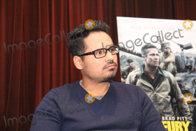 Michael Pena Photo - Michael Pena 10102014 Press Conference of Fury held at Sony Pictures Studios in Culver City CA Photo by Izumi Hasegawa  HollywoodNewsWirenet