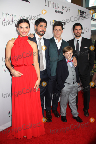 Alejandro Monteverde Photo - Ali Landry Alejandro Monteverde David Henrie Jakob Salvati Eduardo Verastegui 04142015 Little Boy Premiere held at the Regal Cinemas LA LIVE Stadium 14 in Los Angeles CA Photo by Kazuki Hirata