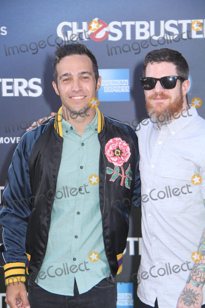 Andy Hurley Photo - Fall Out Boy Pete Wentz Andy Hurley 07092016 The Los Angeles Premiere of gGhostbustersh held at the TCL Chinese Theatre in Hollywood CA Photo by Izumi Hasegawa  HollywoodNewsWireco