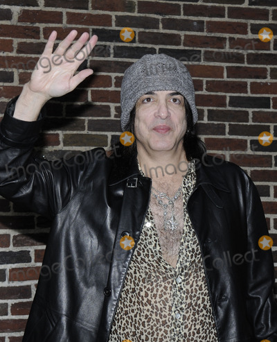 Paul Stanley Photo - From the band KISS Paul Stanley stops by The Late Show With David Lettertman at the Ed Sullivan Theatre in New York NY on October 6th 2009 (Pictured Paul Stanley)