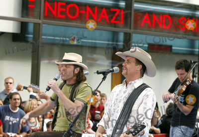 Big Kenny Alphin Photo - Big Kenny Alphin and John Rich of the country duo Big And Rich onstage performing during The Today Show on July 8 2006 inNew York City