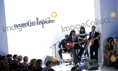John Forte Photo - Musician John Forte and his band perform during the Nanette Lepore Spring 2011 fashion show during Mercedes-Benz Fashion Week at The Theatre at Lincoln Center on September 15 2010 in New York City