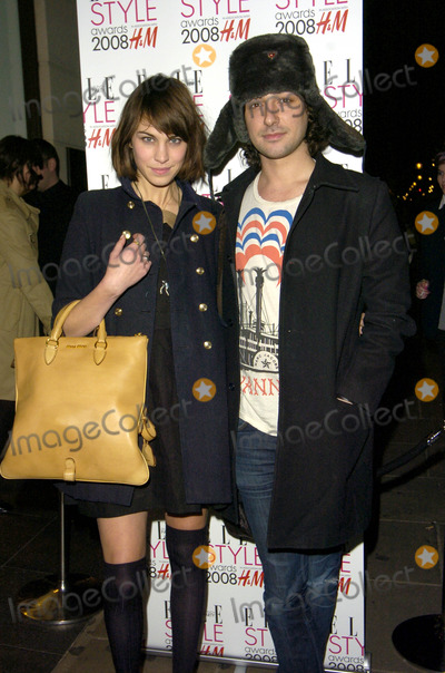 Alex Zane Photo - London UK Alexa Chung and Alex Zane at the Elle Style Awards Press Launch held at H and M on Oxford Street 24th January 2008Can NguyenLandmark Media
