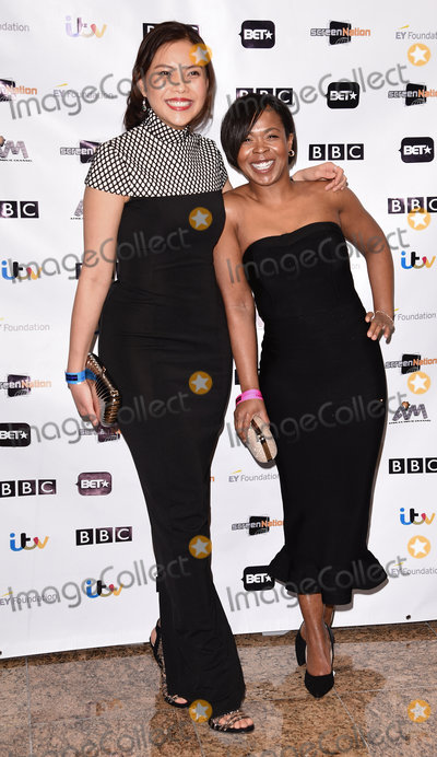 Azuka Oforka Photo - London UK Chrystal Yu and Azuka Oforka at the Screen Nations Awards held at the Hilton Metropole Hotel Edgware Road London on Saturday 19 March 2016Ref LMK392-60351-200316Vivienne VincentLandmark Media WWWLMKMEDIACOM
