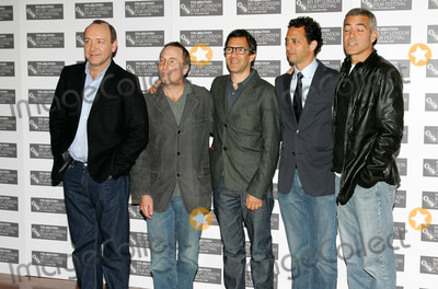 Jon Ronson Photo - LondonUK  L-R Kevin Spacey  auther Jon Ronson  producer Paul Lister  Director Grant Heslov and George Clooney   at the photocall for Men Who Stare At Goats  London Film Festival The Vue Cinema London 15th October 2009Keith MayhewLandmark Media