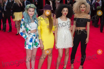 Asami Zdrenka Photo - London UK Neon Jungle (Shereen Cutkelvin Asami Zdrenka Jessica Plummer and Amira McCarthy) at  the World Premiere of The Amazing  Spider-Man 2 at The Odeon Cinema Leicester Square London England UK on 10th April 2014Ref LMK370-48130-110414Justin NgLandmark MediaWWWLMKMEDIACOM