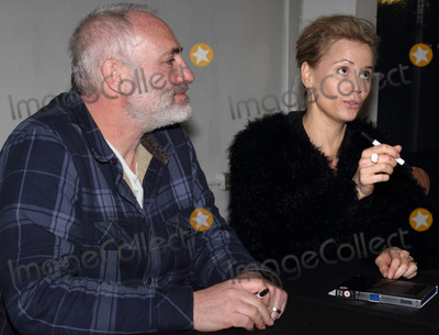 Kim Bodnia Photo - London UK Kim Bodnia and Sofia Helin (The Bridge)  at the  Nordicana 2014 at Old Truman Brewery London The event is a weekend celebration of television and film created  by the Scandinavian nations of Norway Denmark Sweden and Iceland - also known as Nordic Noir 1st February 2014  RefLMK73-40545-020214 Keith MayhewLandmark MediaWWWLMKMEDIACOM