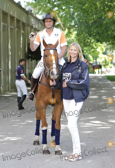Andrea Vianini Photo - London UK  Jodie Kidd with boyfriend Argentinian polo player Andrea Vianini at the Hurlingham Club to launch the 2011 MINT Polo in the Park event  The event which will attract polo teams from around the world takes placce 3rd-5th June 2011 The event is expected to attract celebrities and perhaps some members of the British royal family 10th May 2011