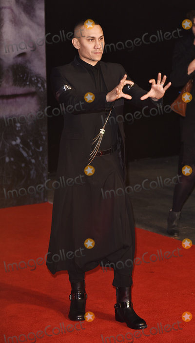 Black Eyed Peas Photo - LondonUK Taboo (The Black Eyed Peas) at the UK Premiere of  The Revenant  at the Empire Leicester Square 14th January 2016 Ref LMK392-59129-150116Vivienne VincentLandmark Media WWWLMKMEDIACOM
