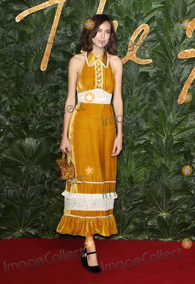 Alexa Chung Photo - London UK Alexa Chung at the The Fashion Awards 2018 at the Royal Albert Hall Kensington London on December 10th 2018Ref LMK73-J4027-111218Keith MayhewLandmark Media WWWLMKMEDIACOM