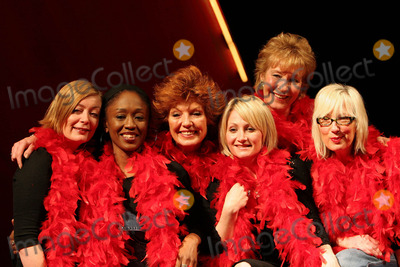 Alison Newman Photo - London Alison Newman Diane Parish Rula Lenska Lucy Speed Christine Hamilton and Jenny Eclair who will be making apprearances in the production of The Vagina Monologues throughout its run at The Wyndhams Theatre Leicester Square London4 April 2005PAOLO PIREZLANDMARK MEDIA