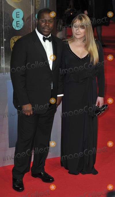 Steve Mc Queen Photo - London UK Steve McQueen and Bianca Stiger at the EE British Academy Film Awards 2014 at The Royal Opera House on February 16 2014 in London England  Ref LMK386-47681-180214Gary MitchellLandmark Media WWWLMKMEDIACOM