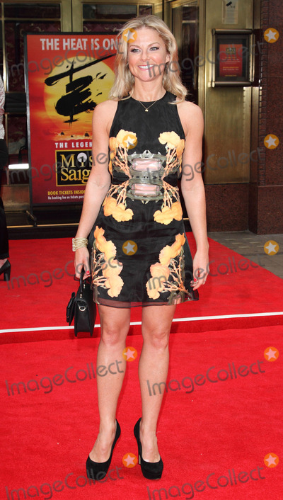 Sarah Hadland Photo - London UK Sarah Hadland at Miss Saigon Press Night at the Prince Edward Theatre London  May 21st 2014 Ref LMK73-48535-220514Keith MayhewLandmark Media WWWLMKMEDIACOM