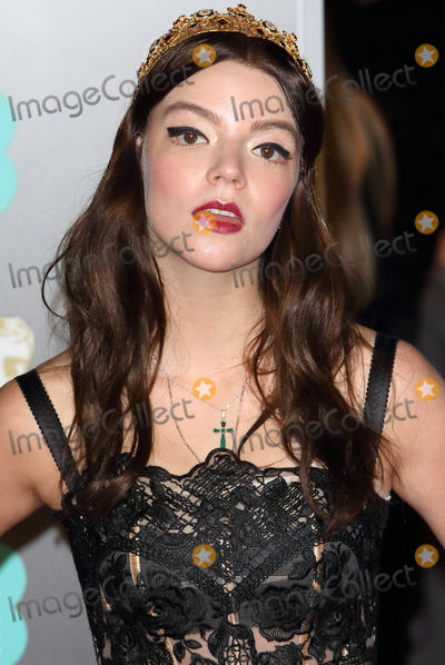 Anya Taylor-Joy Photo - London UK Anya Taylor-Joy at EE British Academy Film Awards 2018 - Red Carpet Arrivals at the Royal Albert Hall London on Sunday February 18th 2018 Ref LMK73 -J1591-190218Keith MayhewLandmark Media WWWLMKMEDIACOM