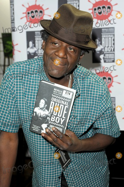 Neville Staple Photo - London UK The Specials singer Neville Staple celebrates the release of his autobiography Original Rude Boy with a signing session at Fopp in Covent Garden12 May 2009Ali KadinskyLandmark Media