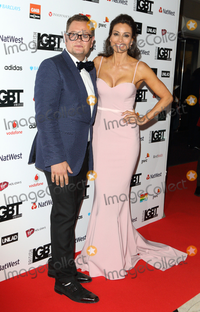 Alan Carr Photo - LondonUK Alan Carr and Melanie Sykes   at the The British LBGT Awards at the Grand Connaught Rooms Covent Garden London 12th May 2017RefLMK73-S235-130417Keith MayhewLandmark MediaWWWLMKMEDIACOM