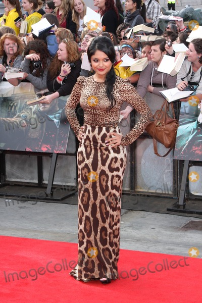 Afshan Azad Photo - London UK  070711Afshan Azad at the World Premiere of the film Harry Potter And The Deathly Hallows Part 2 held in Trafalgar Square7 July 2011Keith Mayhew  Landmark Media