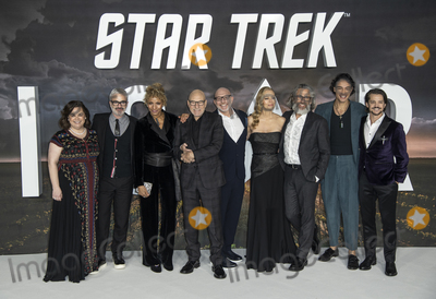 Akiva Goldsman Photo - London UKKirsten Beyer Alex Kurtzman Michelle Hurd Sir Patrick Stewart Akiva Goldsman Jeri Ryan Michael Chabon Evan Evagora Isa Briones Jonathan Del Arco at the European Premiere of Amazon Original Star Trek Picard at Odeon Luxe Leicester Square on January 15 2020 in London EnglandRef LMK386-J6033-160120Gary MitchellLandmark MediaWWWLMKMEDIACOM