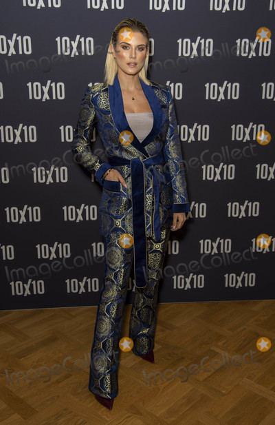 Ashley James Photo - London UK Ashley James at  a special screening of the thriller 10x10 at the Curzon Cinema Aldgate London England on the 22nd August 2018Ref LMK386-J2540-230818Gary MitchellLandmark MediaWWWLMKMEDIACOM