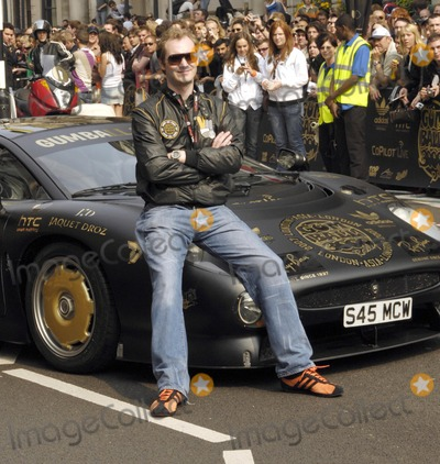 Maximillion Cooper Photo - London UK Maximillion Cooper (ex-Armani model and founder and organiser of the Gumball 3000 car race) at the Gumball 3000 (miles) Rally kick off in londons Pall Mall The race started from London and will go across Europe through cities including Bratislava and Vienna before arriving back in the capital just eight days later where the winners and all the guests will be greeted with music concert and awards ceremony28th April 2007 Simon CritchleyLandmark Media