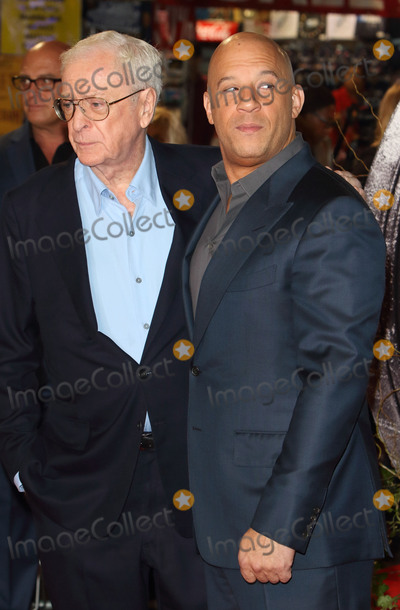 Michael Caine Photo - London UK Michael Caine and Vin Diesel at the UK Premiere of The Last Witch Hunter at the Empire Leicester Square London on 19th October 2015Ref LMK73-58362-201015Keith MayhewLandmark Media WWWLMKMEDIACOM