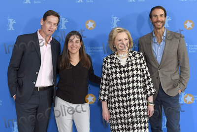 Hillary Clinton Photo - Berlin Germany Co-producer Howard Owens Former US Secretary of State and First Lady Hillary Rodham Clinton director Nanette Burstein and co-producer Ben Silverman  at  the photocall of Hillary during the 70th Berlin International Film Festival at the Grand Hyatt Hotel 25th February 2020 RefLMK200-S2930-250220Landmark MediaWWWLMKMEDIACOM