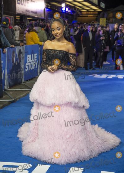 Gary Mitchell Photo - London UK Karla - Simone Spence at  the World Premiere of Blue Story at the Curzon Mayfair on November 14 2019 in London EnglandRef LMK386-J5789-151119Gary MitchellLandmark MediaWWWLMKMEDIACOM