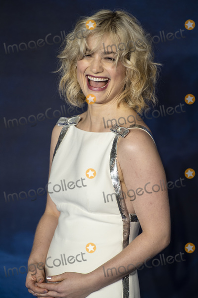 Alison Sudol Photo - London UK Alison Sudol at The UK Premiere of Fantastic Beasts The Crimes Of Grindelwald held at Vue West End Leicester Square London on Tuesday 13 November 2018  Ref LMK386-J2944-141118Gary MitchelltLandmark Media WWWLMKMEDIACOM