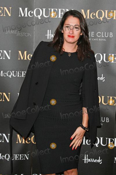Amy Molyneaux Photo - London UK Amy Molyneaux at McQueen at the  Press Night Theatre Royal Haymarket 27th August 2015 Ref LMK394-58176-290815Brett CoveLandmark Media  WWWLMKMEDIACOM