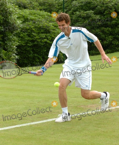 Andy Murray Photo - Stoke Park Bucks UK Andy Murray who had time off to recover from an injured hand for six weeks participated in a knock about at Boodles Challenge in Stoke Park 20th June 2007Andy LomaxLandmark Media